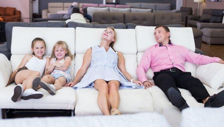 Kā izvēlēties piemērotāko dīvānu?