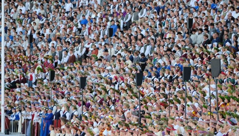 Latviešu Dziesmu un deju svētkos Kanādā pulcējušies ap 2000 dalībnieku