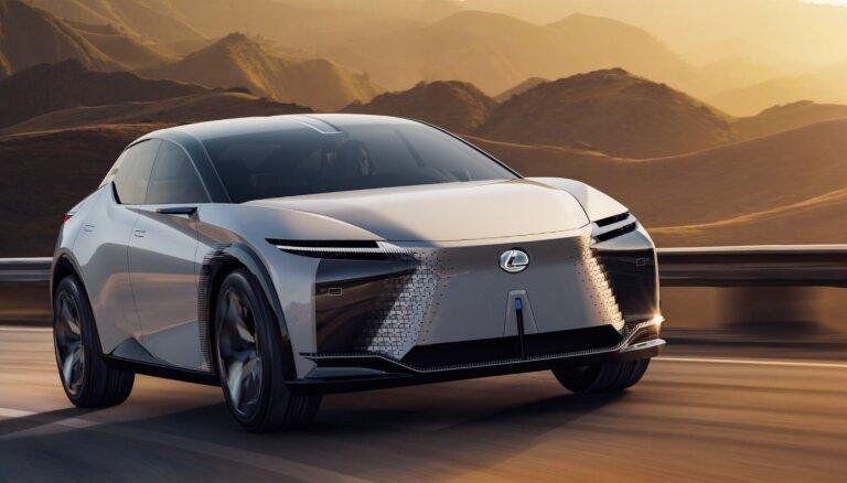 'Lexus' zīmola nākotnes vīzija un jaunais konceptauto 'LF-Z Electrified'
