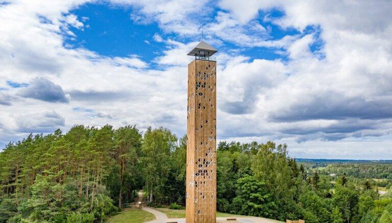 Atklāts augstākais skatu tornis Lietuvā