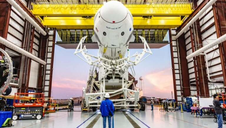 В SpaceX сообщили, что космическая капсула Crew Dragon разрушена