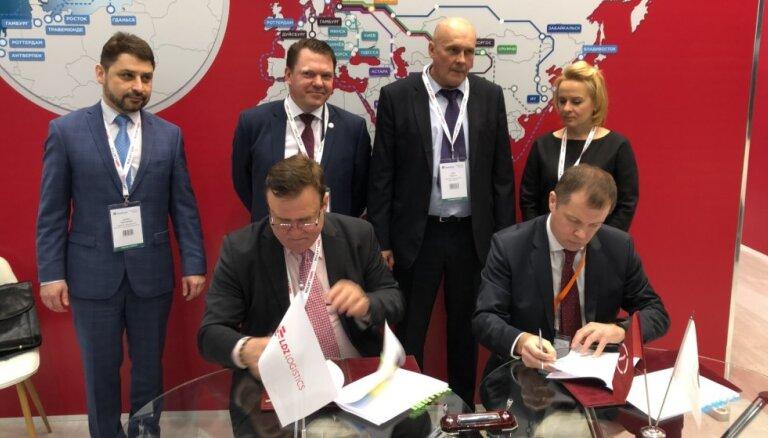 SIA 'LDz Loģistika' Maskavā noslēdz līgumus par kontrtreileru pārvadāšanu un kravu apjoma palielināšanu