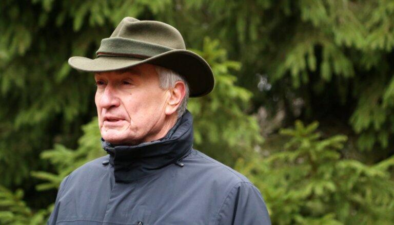 Amatu zaudējis 'Rīgas mežu' valdes priekšsēdētājs Tauriņš