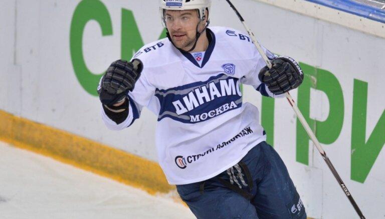 KHL pārbaudes spēles: Daugaviņam vārtu guvums; Masaļskim 'sausā' spēle