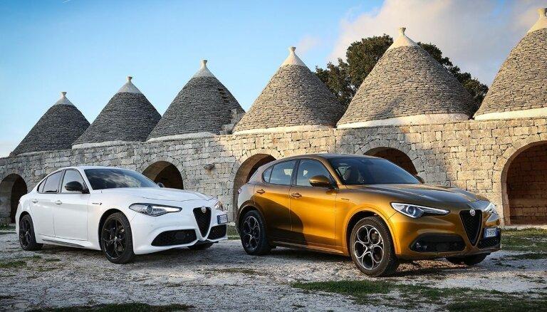 Nākamgad vērienīgas izmaiņas sagaida 'Alfa Romeo Giulia' un 'Stelvio' modeļus