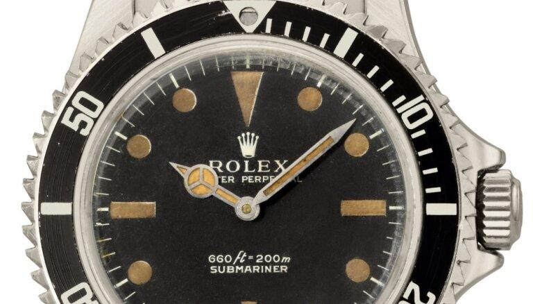 Часы Джеймса Бонда продали анонимному покупателю