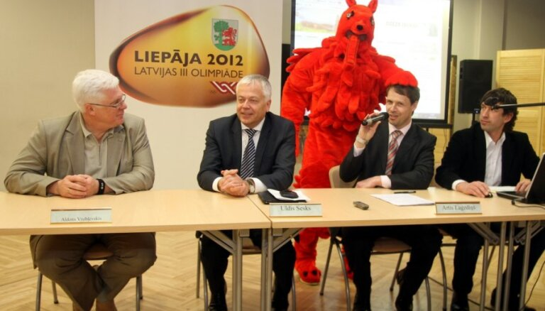 Prezentē Latvijas III Olimpiādes logo un talismanu