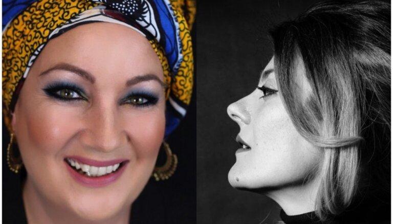 Saruna ar operas 'Ainadamar' solistēm Marinu Pardo un Mariju Inohosu-Montenegro
