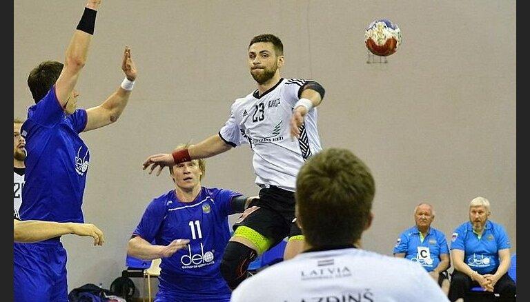 Latvijas handbolistiem zaudējums 'Adriatic cup' pirmajā spēlē
