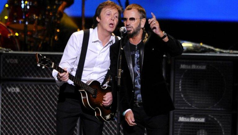 Пол Маккартни и Ринго Старр выступят вместе на вручении Grammy