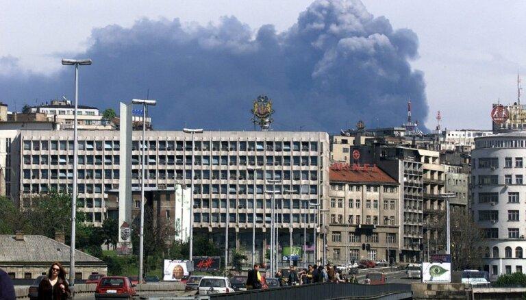 Atskats vēsturē: Pirms 20 gadiem NATO bombardēja Belgradu