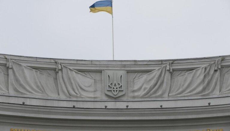 Pirms Ukrainas prezidenta vēlēšanām vadībā komiķis Zelenskis