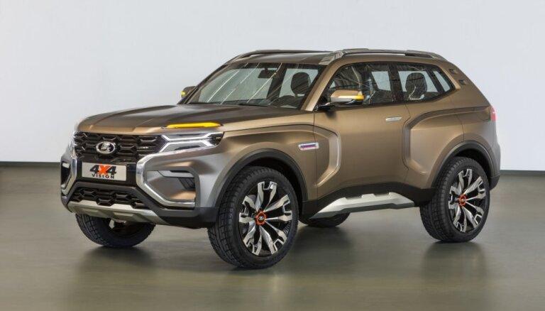 'AvtoVAZ' parādījis jaunā 'Ņiva' apvidnieka prototipu