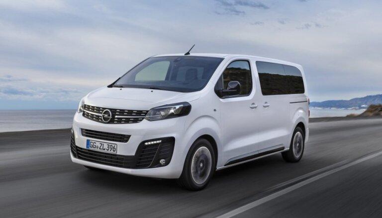 'Opel' jaunais pasažieru mikroautobuss 'Zafira Life'