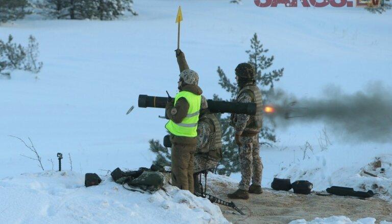 Zemessargi Lūznavā apgūs izdzīvošanas iemaņas ziemas apstākļos