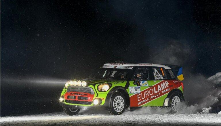 'Rally Alūksne' sākas ar ukraiņa Gorbana uzvaru divos pirmajos ātrumposmos