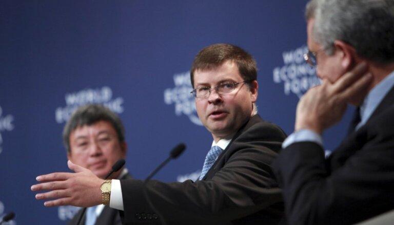 Домбровскис: продвижение к более тесному союзу в Европе однозначно