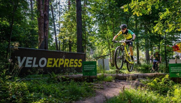'VeloExpress' Latvijas čempionātā MTB maratonā Kūkās aizraujoša trase