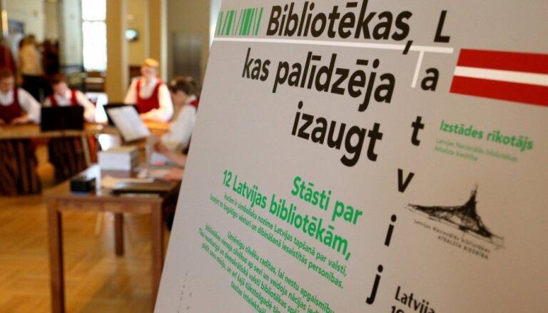 Gaismas pilī atklās izstādi 'Bibliotēkas, kas palīdzēja izaugt Latvijai'