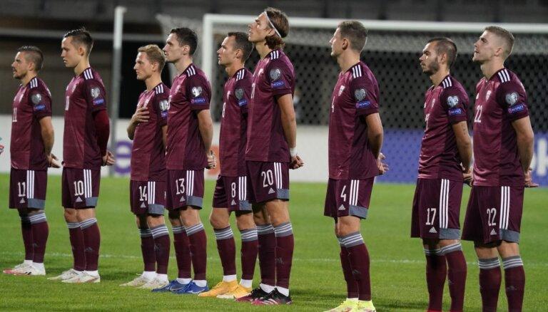 Latvijas futbola izlase Rīgā uzņem Norvēģiju ar Holannu sastāvā