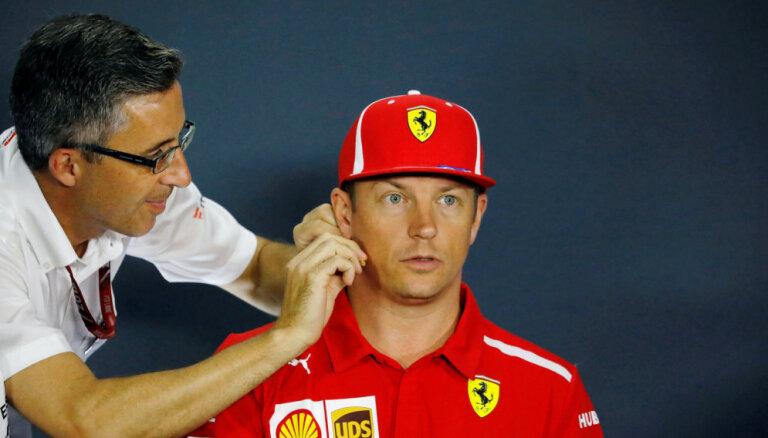 Raikonens sarunas par pievienošanos 'Sauber' komandai uzsāka tikai septembra sākumā