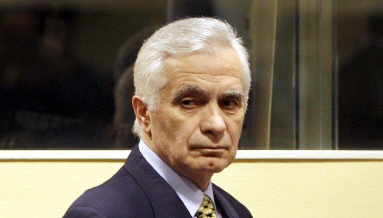 No Covid-19 miris Bosnijas serbu kara noziedznieks Krajišniks