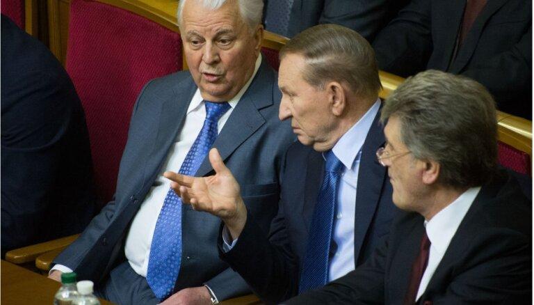Три экс-президента Украины призвали Раду не отменять выборы