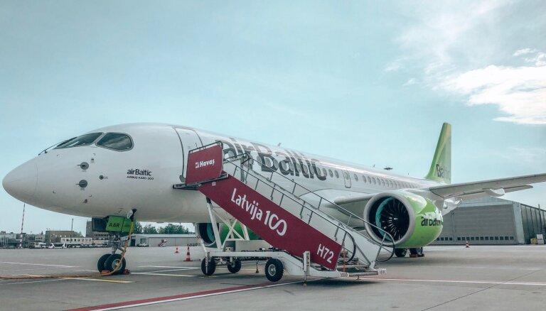 Регуляторы опубликовали новые требования к самолетам Airbus A220, которые использует и airBaltic