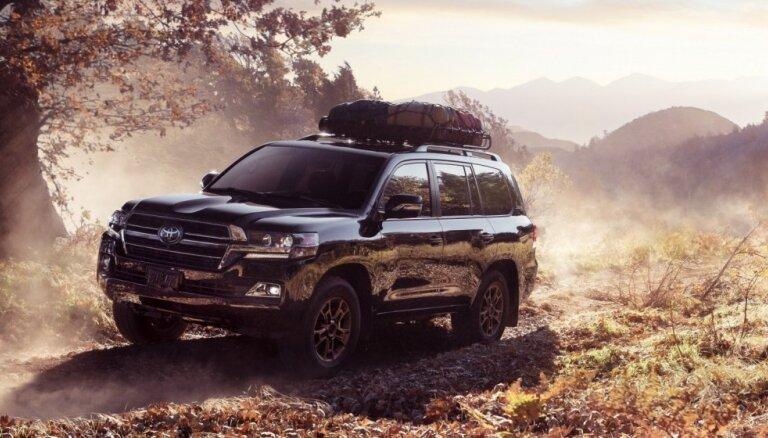 'Toyota Land Cruiser' modeļa evolūcijai veltītā 'Heritage' versija