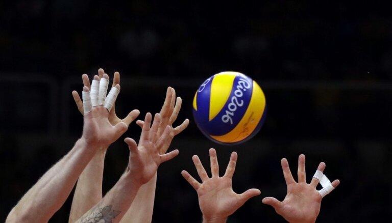 Jēkabpils 'Lūši' un RTU/'Robežsardzes' volejbolisti apspēlē citus Latvijas klubus