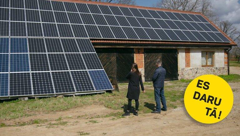 Zem saules: Kuldīgas uzņēmējs Artis Blāķis un viņa enerģētiskais hobijs