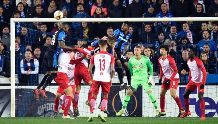 'Zurich' ar Vaņinu rezervē UEFA Eiropas līgas 'play-off' pirmajā spēlē zaudē 'Napoli'