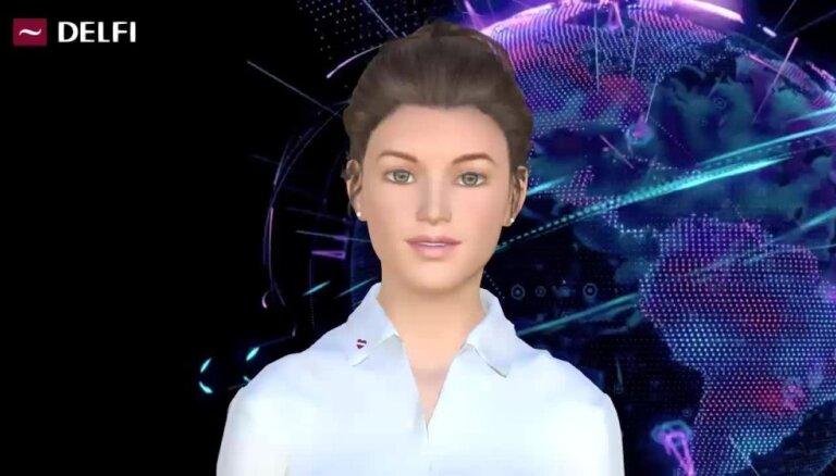 DELFI pievienosies virtuālais diktors – robots Ziņu Laura
