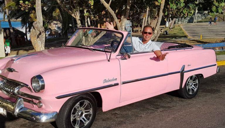 Foto: Laura Reinika raibie piedzīvojumi Kubā