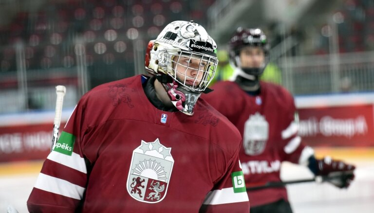 Vārtsargu Šilovu NHL drafta sestajā kārtā izvēlas Vankūveras 'Canucks'