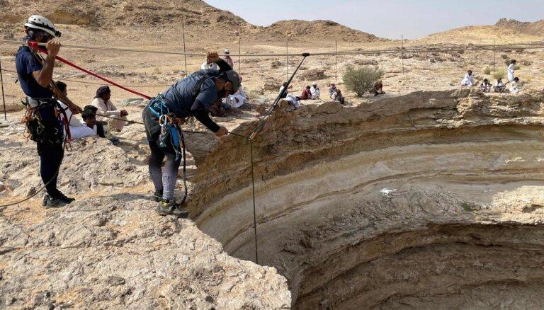 Jemenā izpētīta 'Aka uz elli'