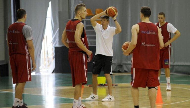 Latvijas basketbolisti aizvada aizvada pirmo pārbaudes spēli šovasar