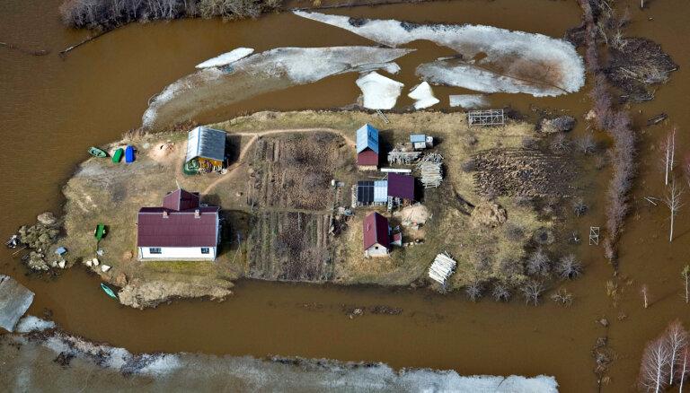 Plūdu risku prognozē vairākos Daugavas, Lielupes, Gaujas un Ogres posmos