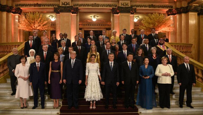 Лидеры стран G20 подписали декларацию минимального компромисса