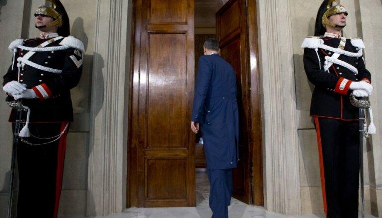 Itālijas prezidents aicinās 'divas grupas' nākt klajā ar valdības programmu