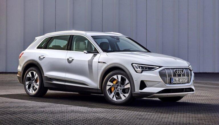 'Audi' piedāvās lētāku elektriskā apvidnieka 'e-tron' versiju