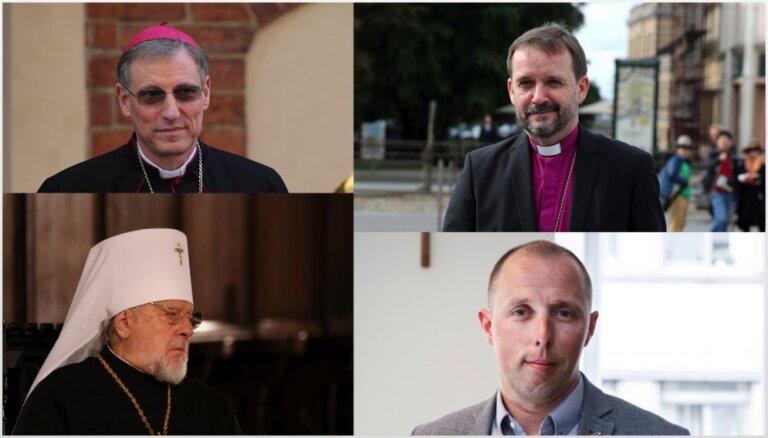 Lielāko konfesiju bīskapi Ziemassvētku sveicienā uzsver tuvākmīlestības ģimenes lomu