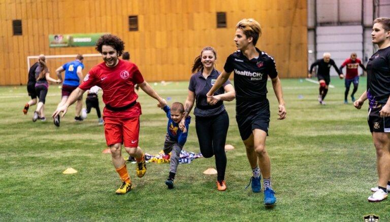 Foto: Regbijs vieno – 'Livonia' uzsāk ģimenisku akciju