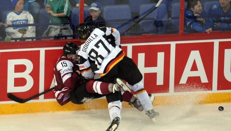 Video: vēl viens Latvijas izlases 'sausais' zaudējums
