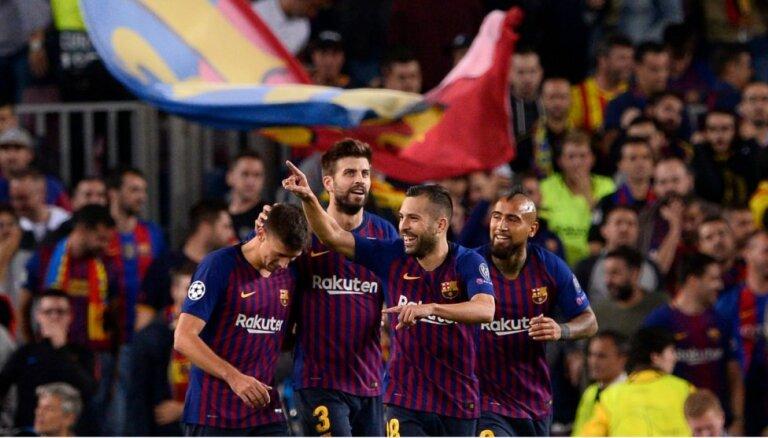 UEFA Čempionu līga: 'FC Barcelona' uzvar bez Mesi