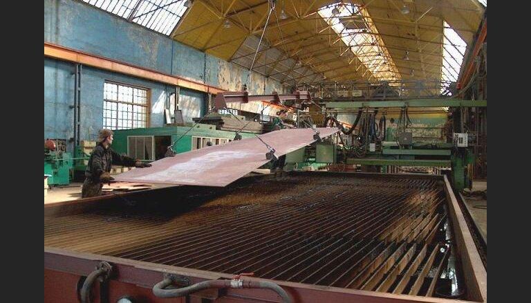 'Tosmares kuģubūvētavas' kreditori pieteikuši prasības 3,898 miljonu eiro apmērā