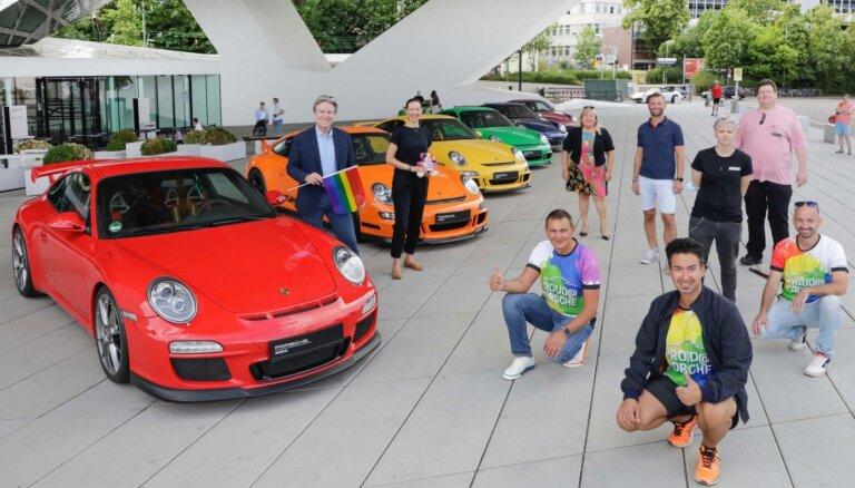 Arī 'Porsche' pievienojas LGBT praida atbalstam