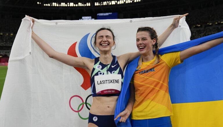 Украинскую легкоатлетку вызвали в министерство из-за совместного фото с российской чемпионкой