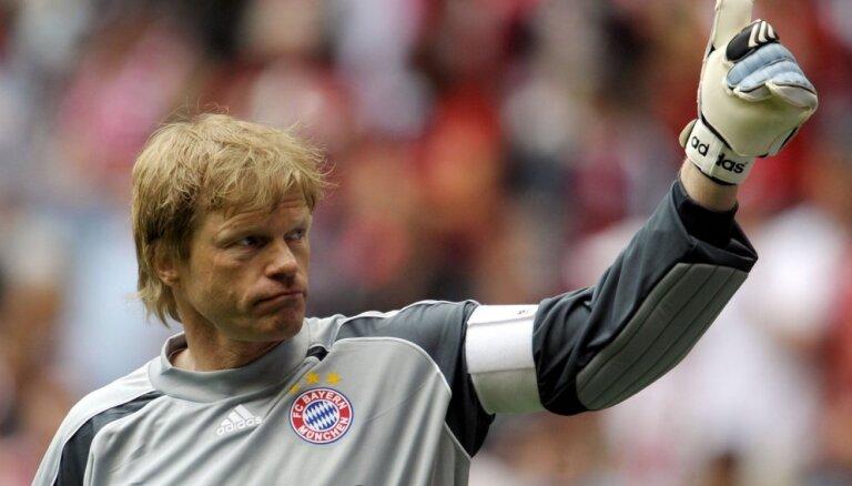 Bijušais Vācijas futbola izlases vārtsargs Kāns sūdz tiesā vārtsargu cimdu izgatavotājus