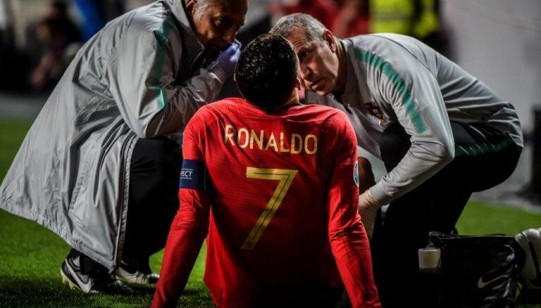 Ronaldu, visticamāk, nedosies laukumā pirmajā 'Juventus' un 'Ajax' duelī